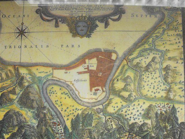 historiske kart trondheim Trondheim 1658   WikiStrinda historiske kart trondheim