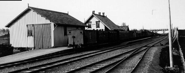Ranheim Jernbanestasjon - WikiStrinda